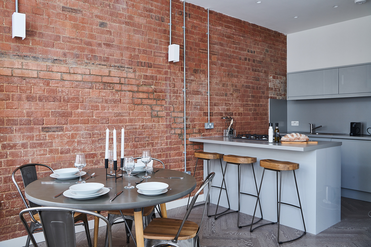 Open-plan at The Residence at Shoreditch Apartments