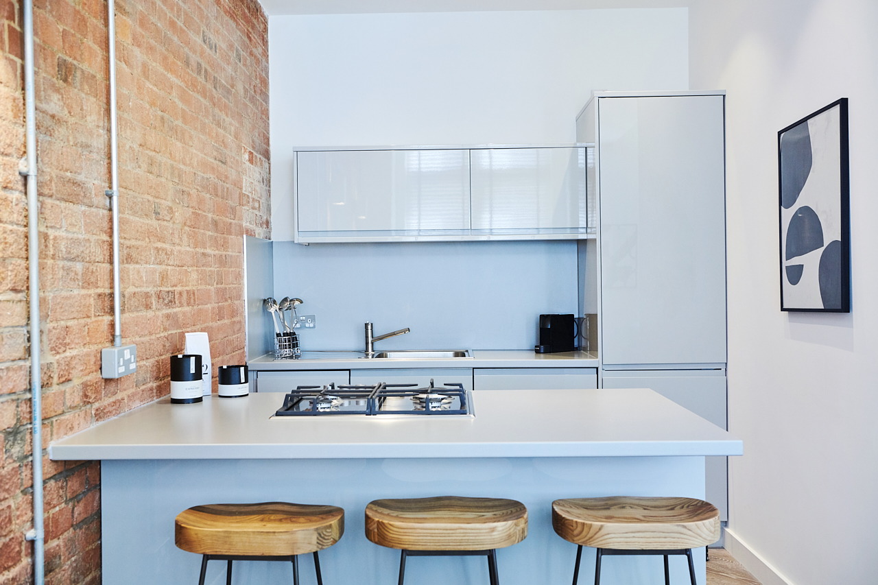 Breakfast bar at The Residence at Shoreditch Apartments