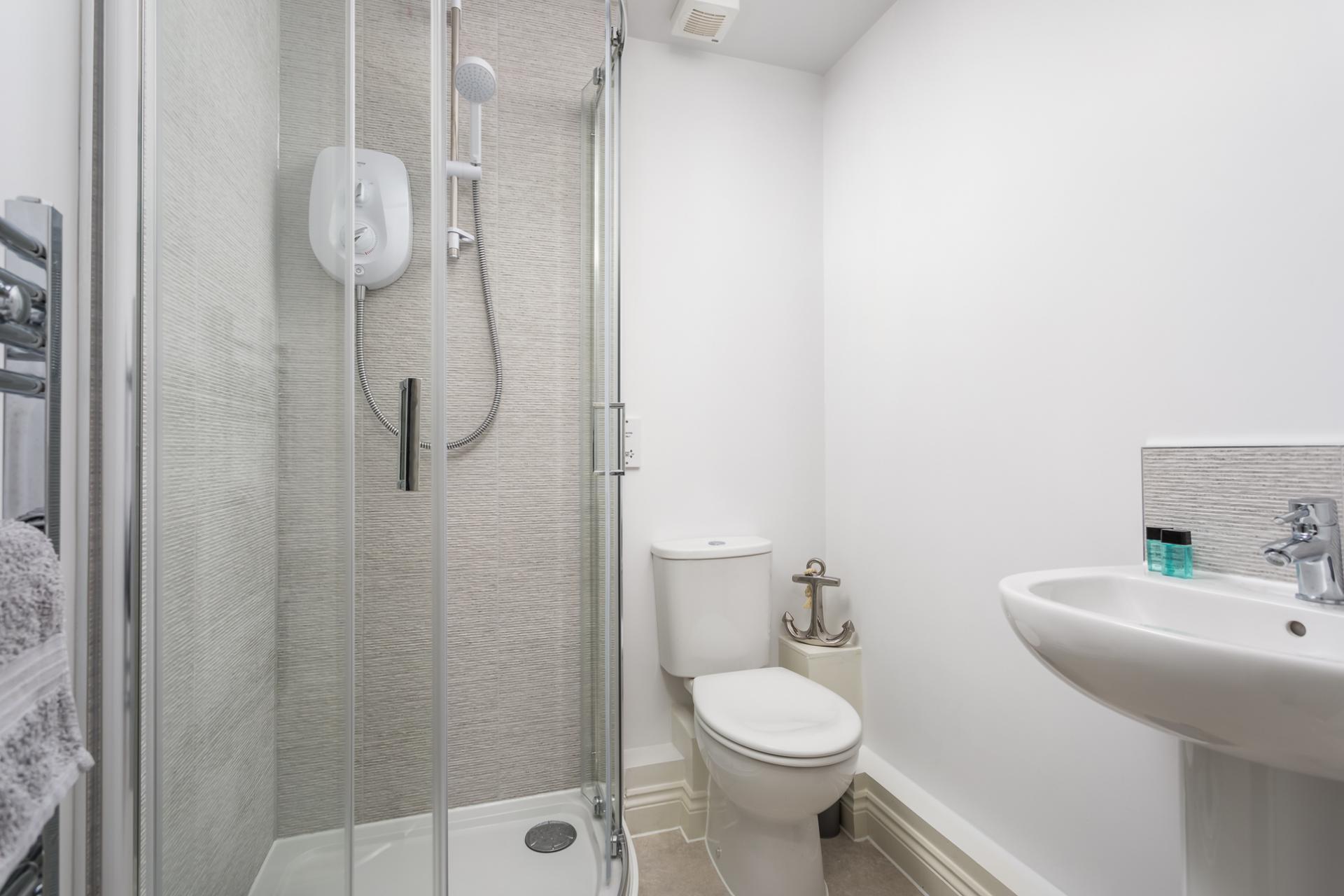 Bathroom at Axiom No. 8 Apartment