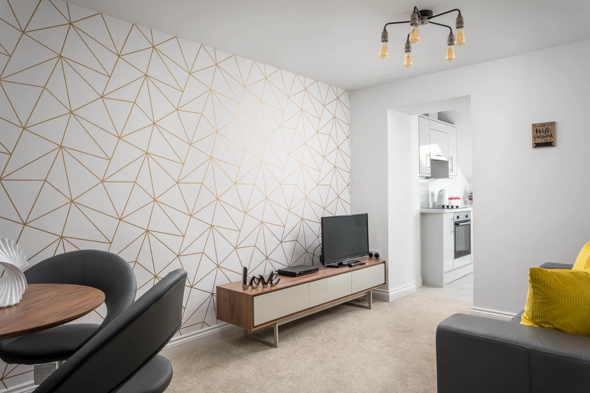 Lounge area at Axiom No. 8 Apartment