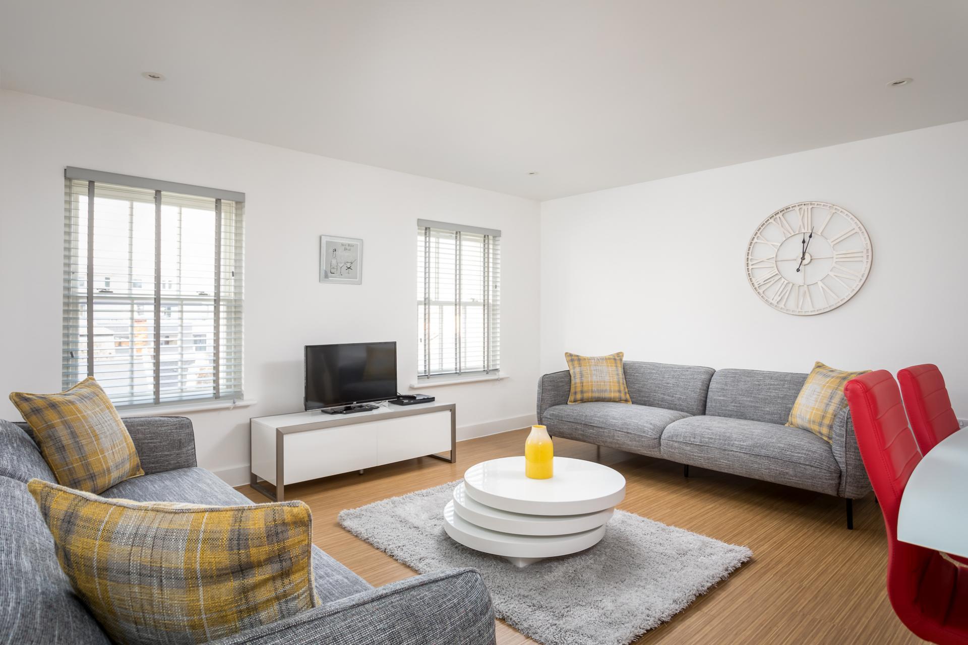 Lounge at Prince Regent Mews Apartment