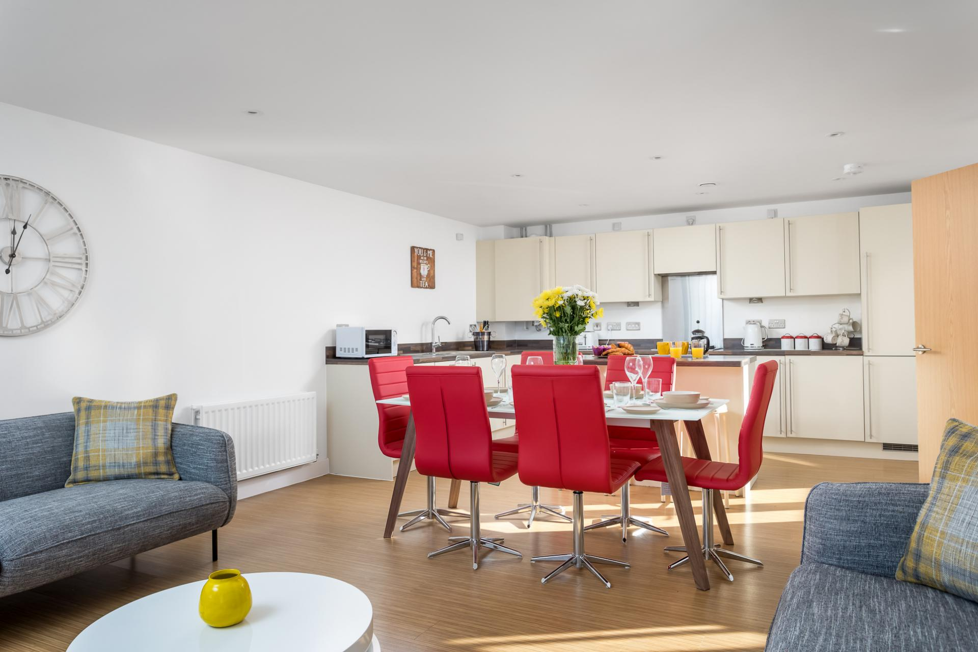 Table at Prince Regent Mews Apartment
