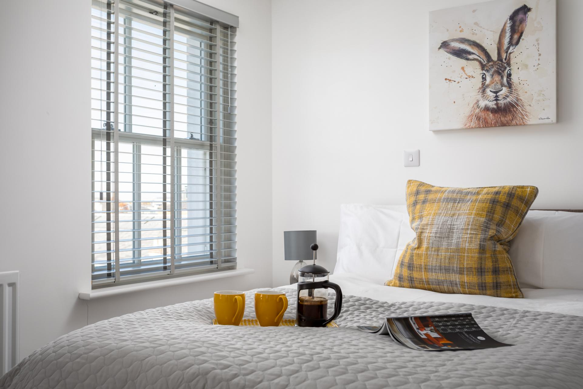 Bedroom at Prince Regent Mews Apartment