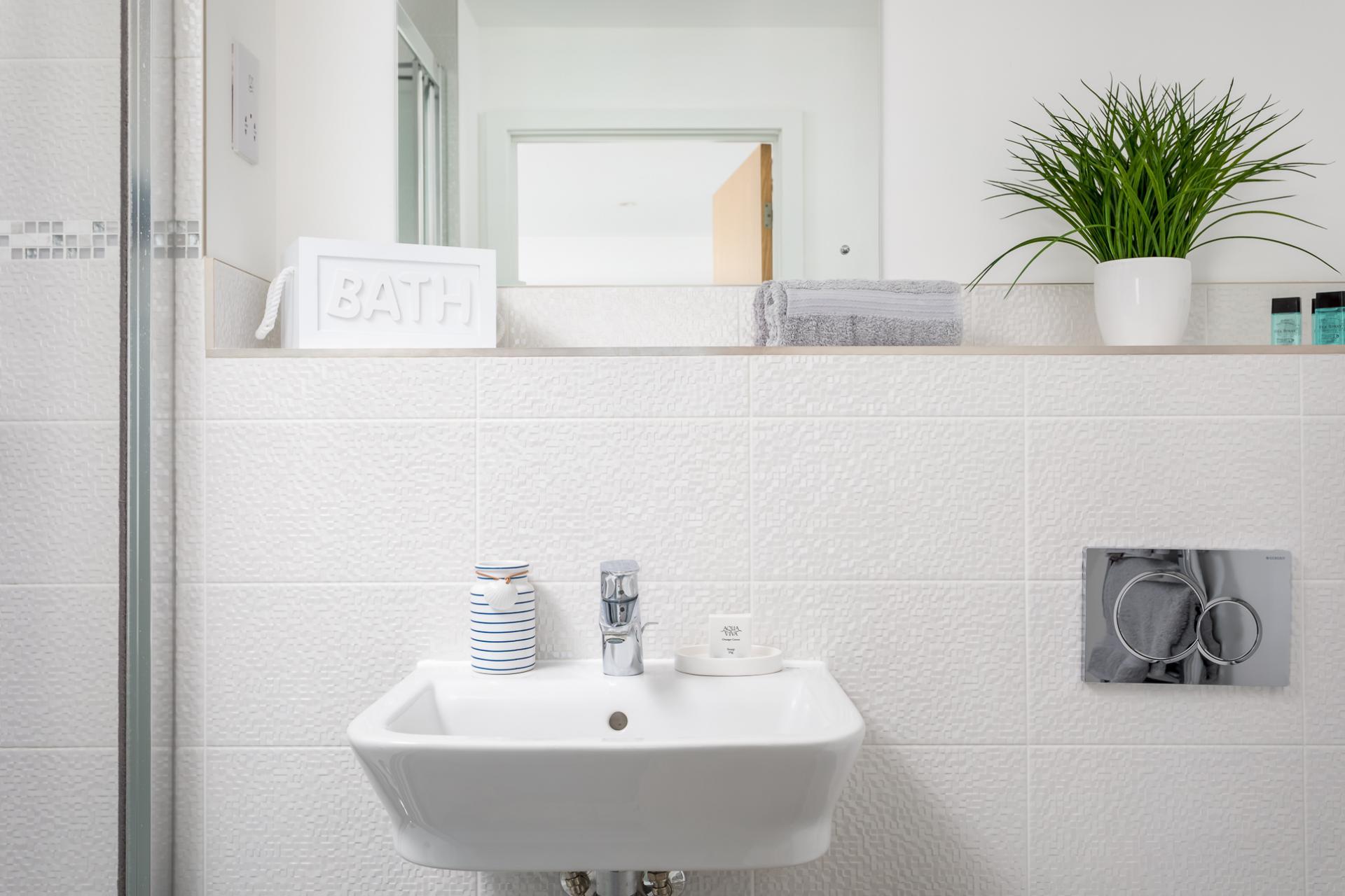 Sink at Prince Regent Mews Apartment