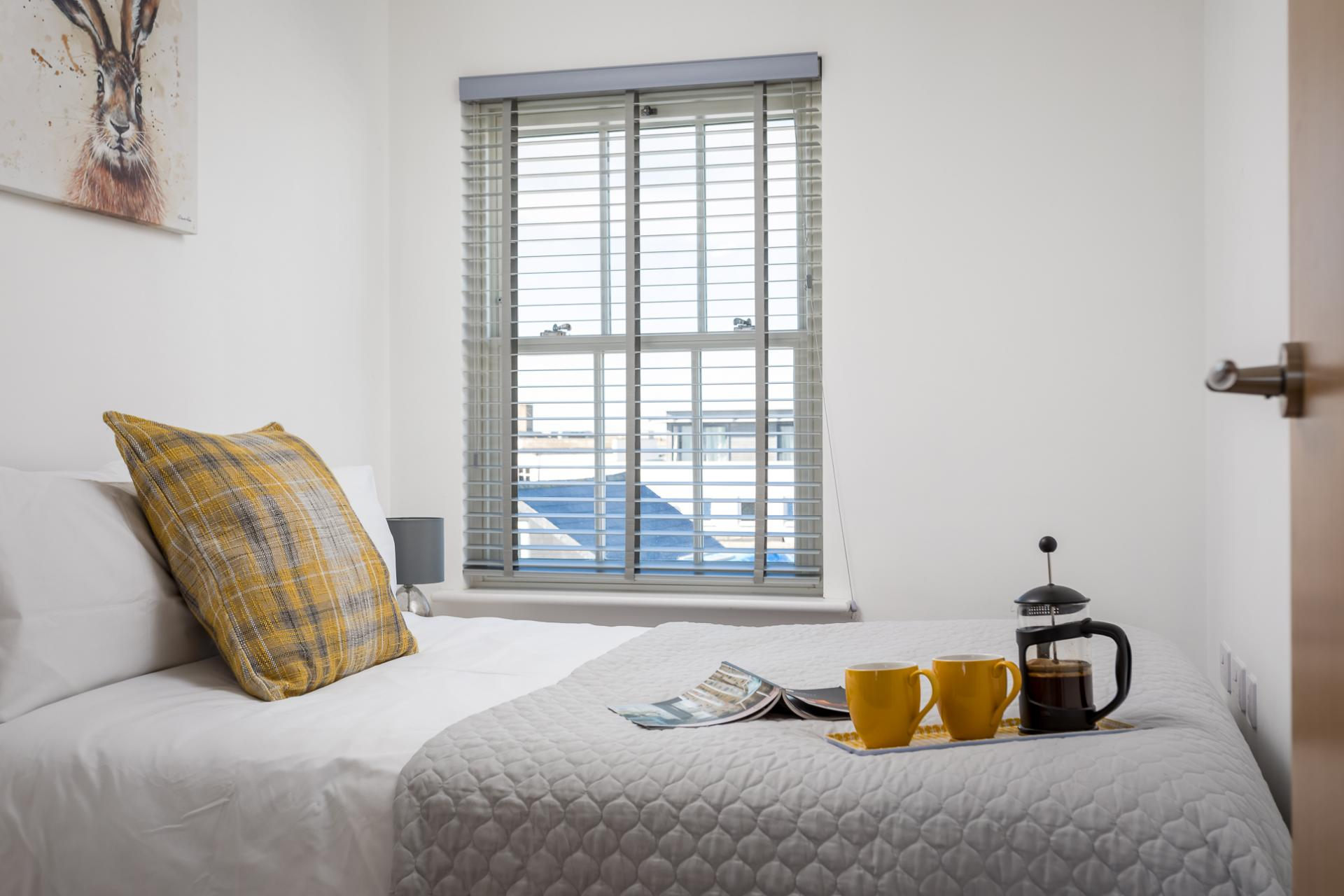 Double bedroom at Prince Regent Mews Apartment