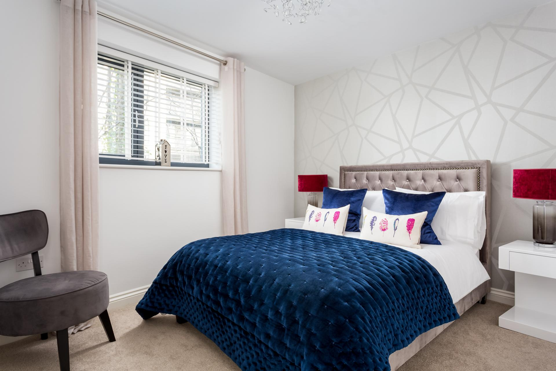 Double bedroom at St George's Road Apartment