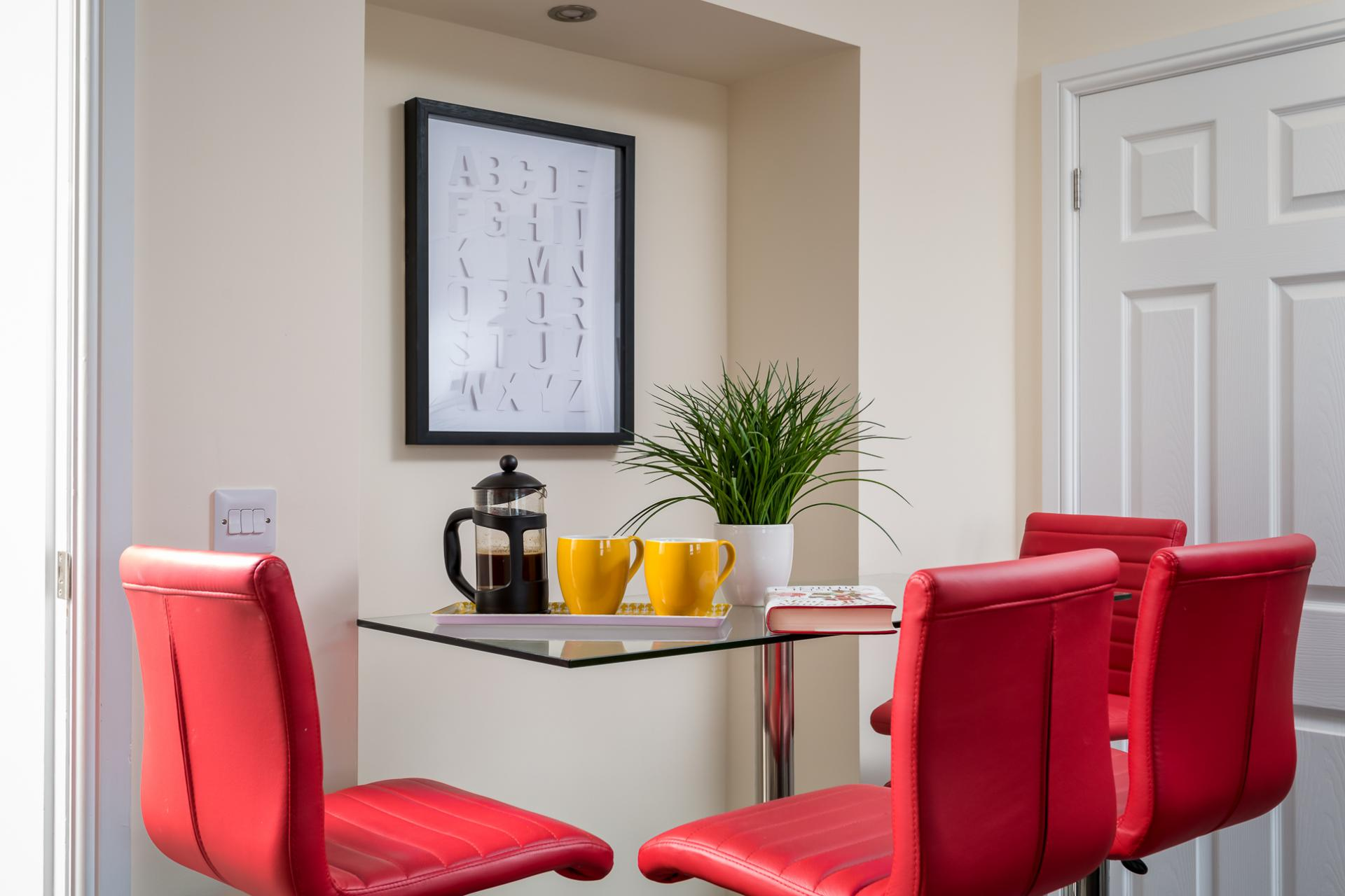 Table at High Street Serviced Apartment