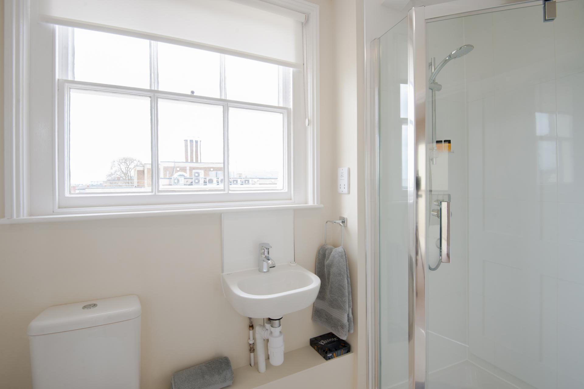 Bathroom at High Street Duplex Apartment