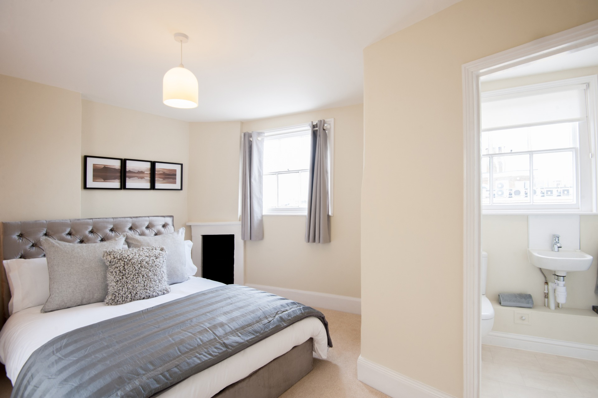Bedroom at High Street Duplex Apartment