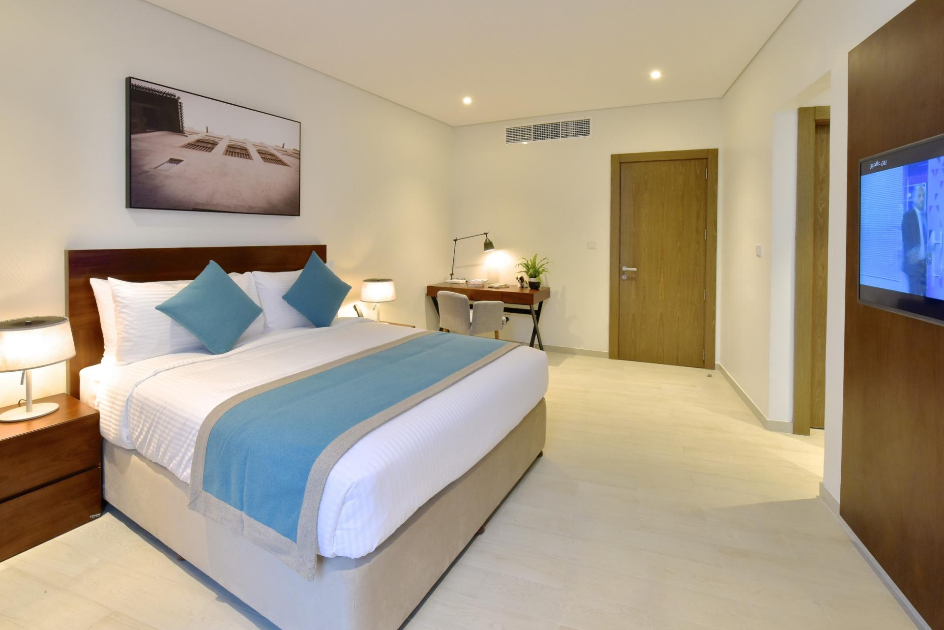 Bedroom at Swiss-Belresidences Juffair