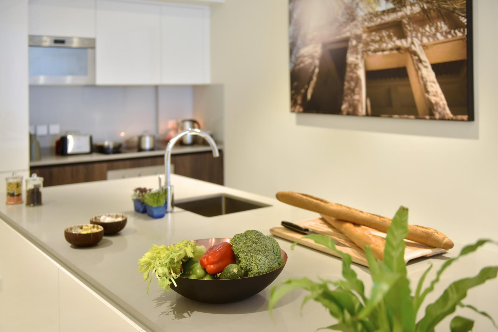 Kitchen faciltities at Swiss-Belresidences Juffair
