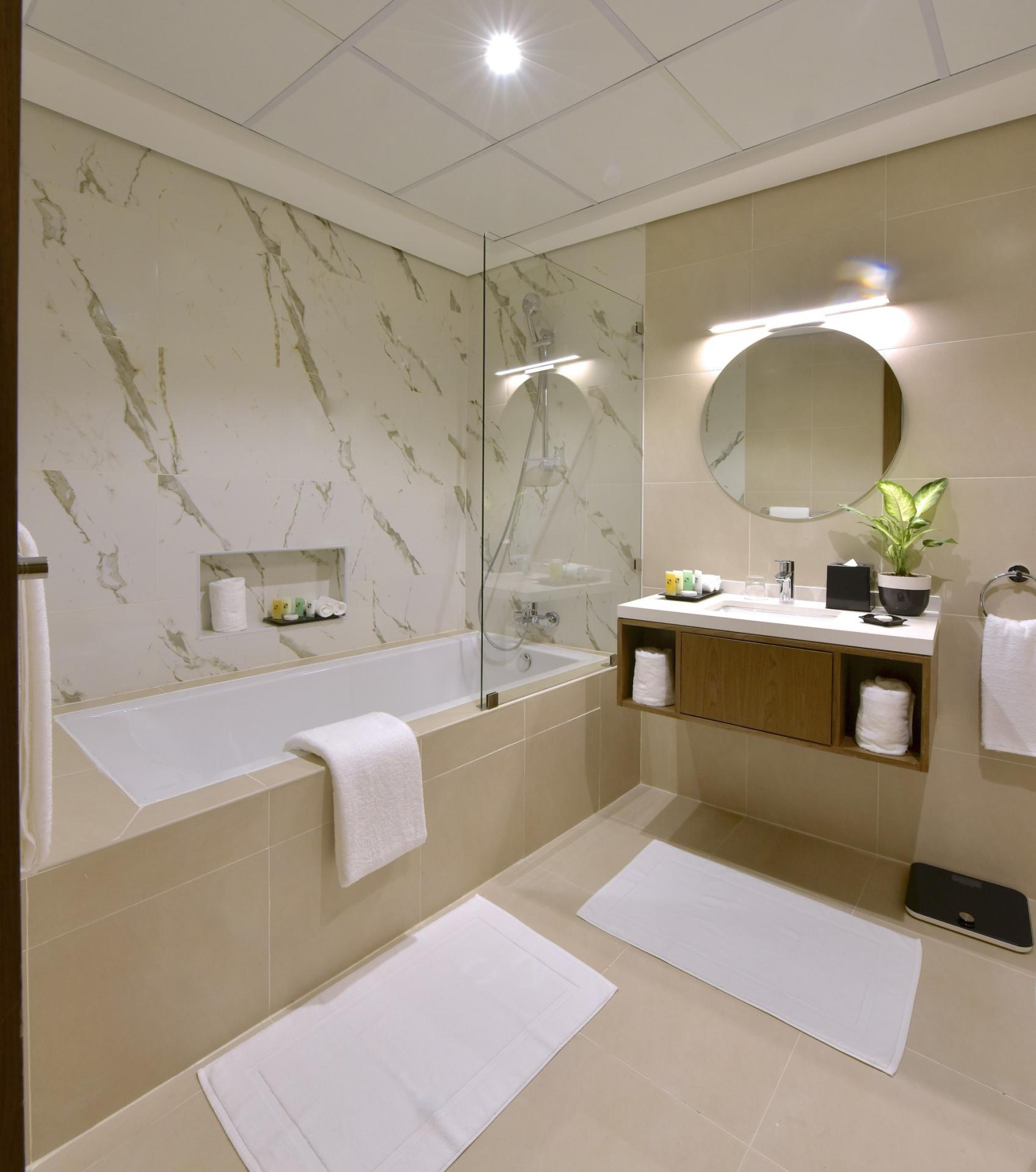 Bath at Swiss-Belresidences Juffair