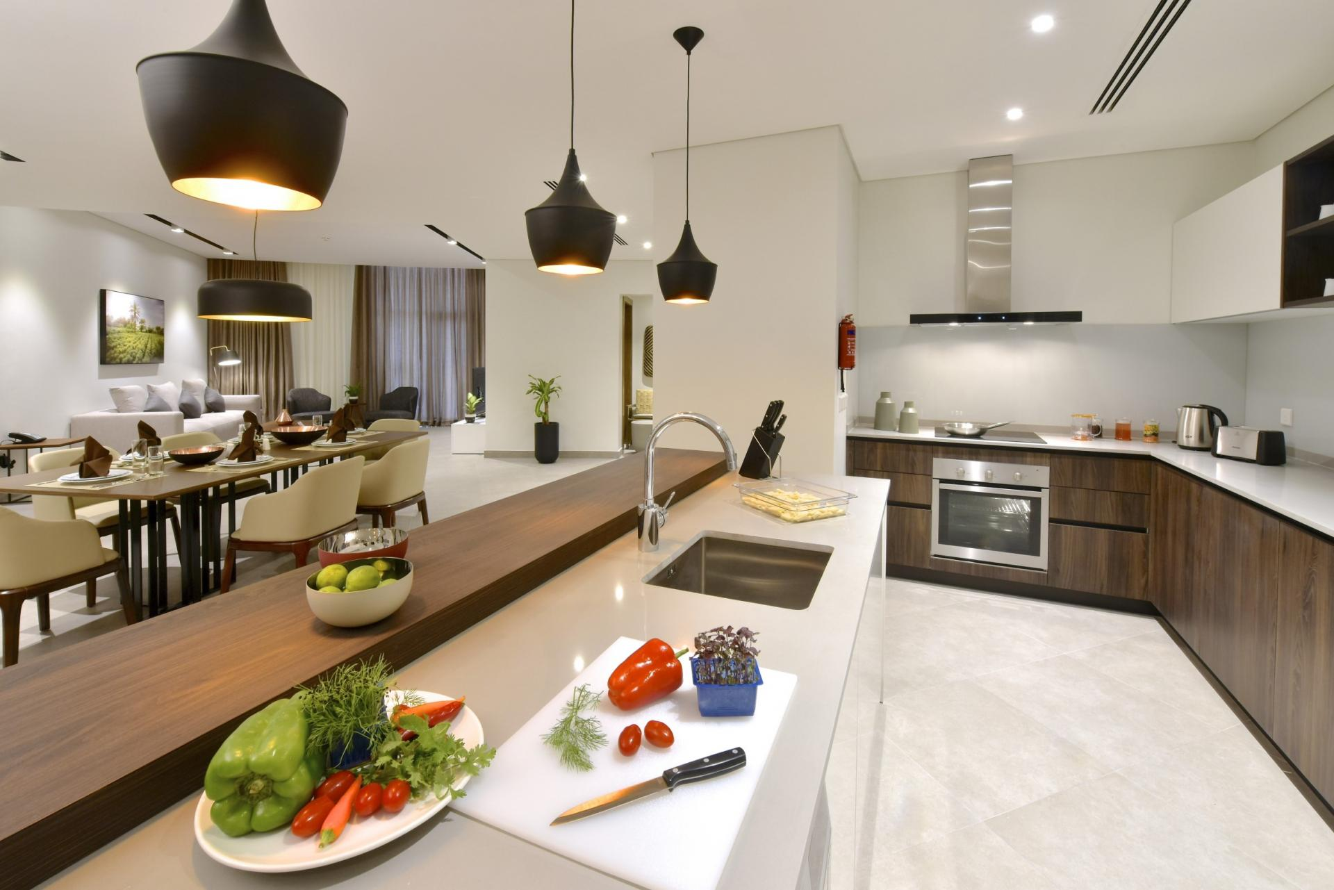 Kitchen facilities at Swiss-Belresidences Juffair