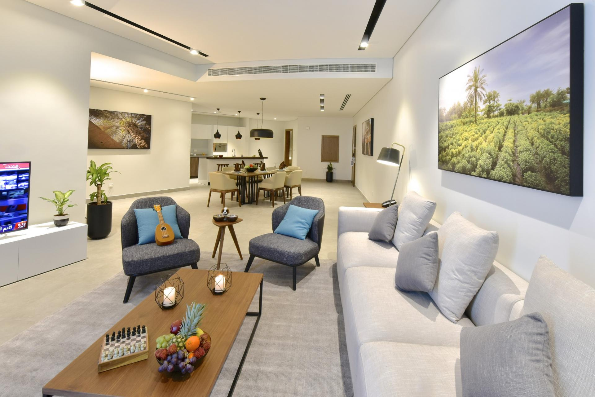 Comfortable living area at Swiss-Belresidences Juffair
