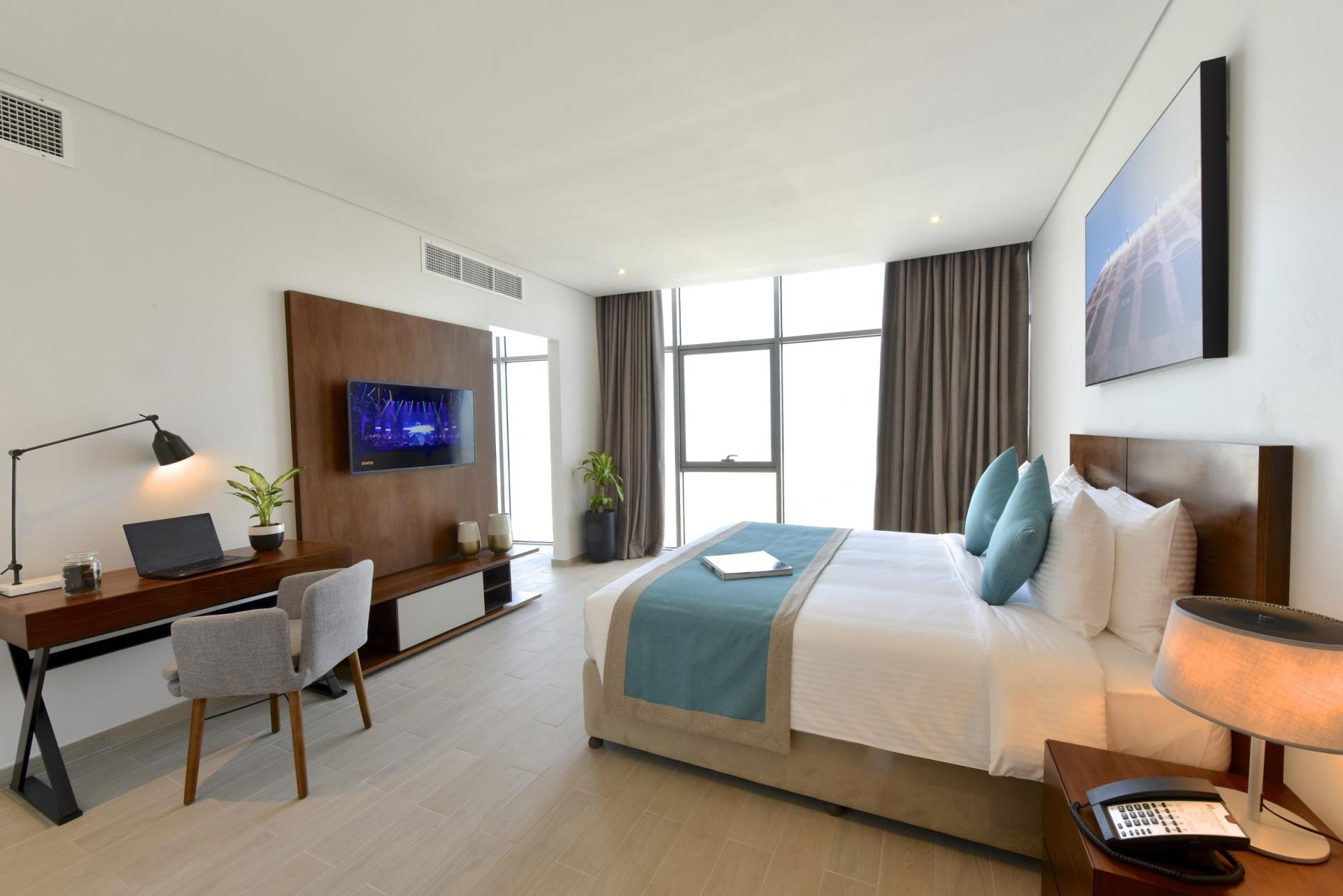 Master suite at Swiss-Belresidences Juffair, Al Juffair, Manama