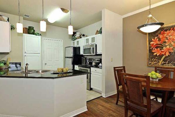 Kitchen at Renaissance Uptown Apartment