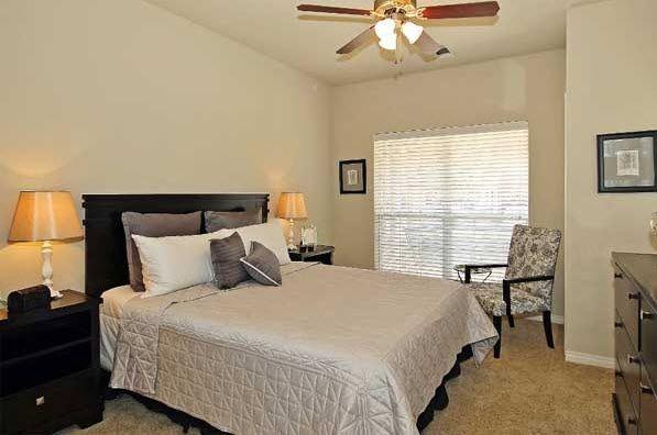Bedroom at Renaissance Uptown Apartment