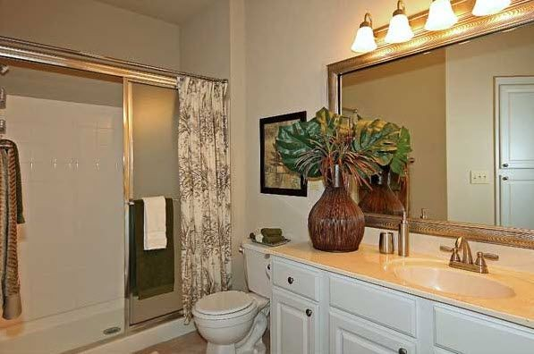Bathroom at Renaissance Uptown Apartment
