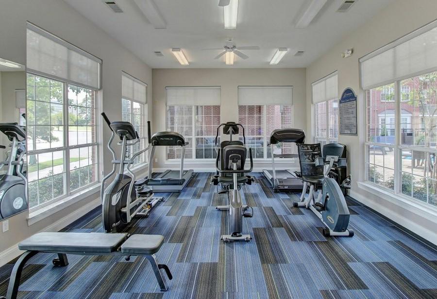 Gym at Renaissance Uptown Apartment