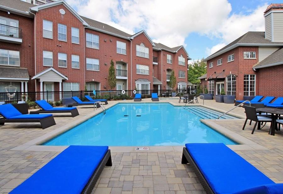 Pool at Renaissance Uptown Apartment
