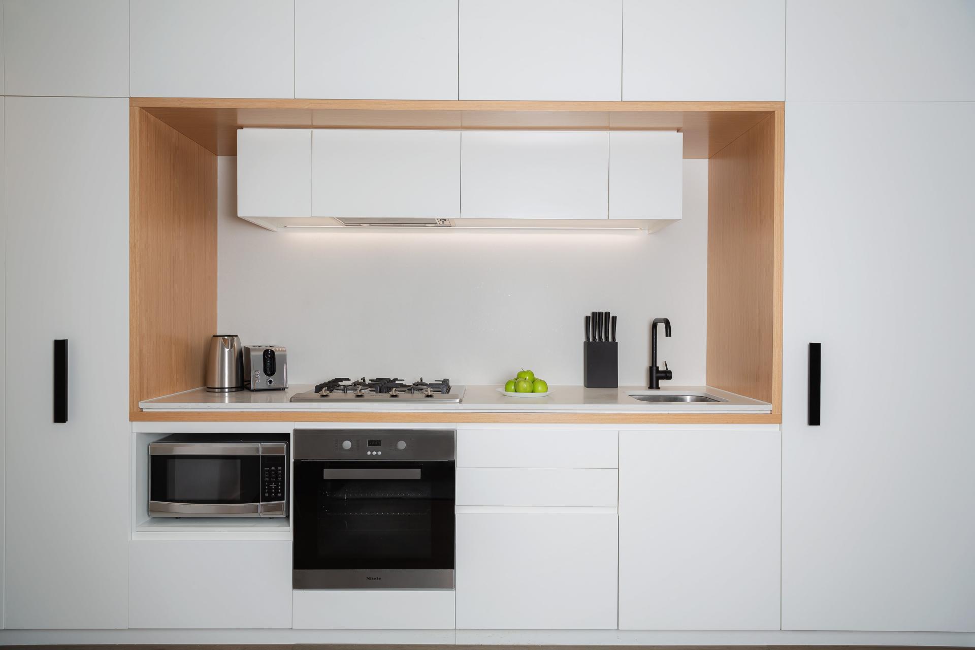 Kitchen at Doepel Way Apartments