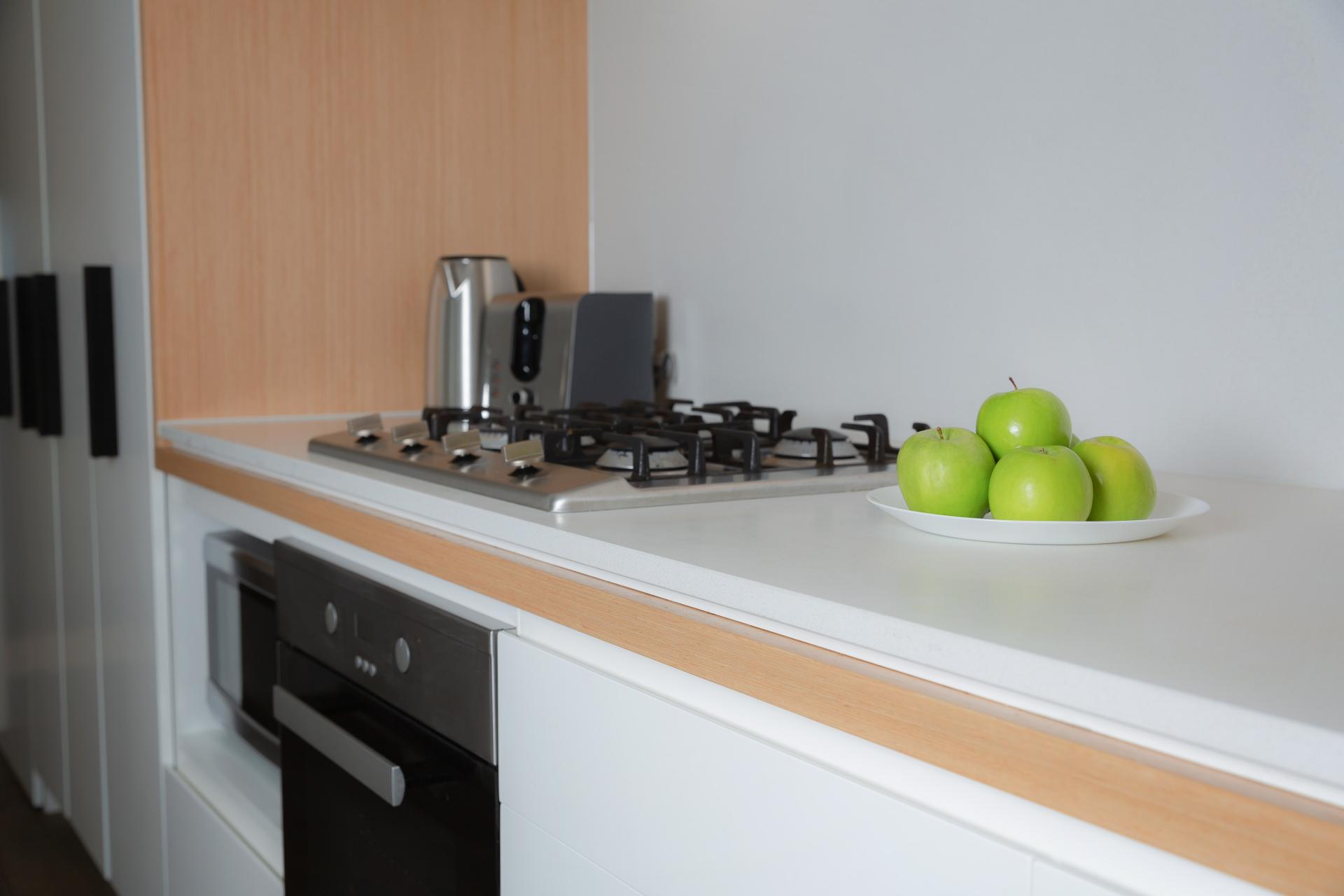 Modern kitchen at Doepel Way Apartments
