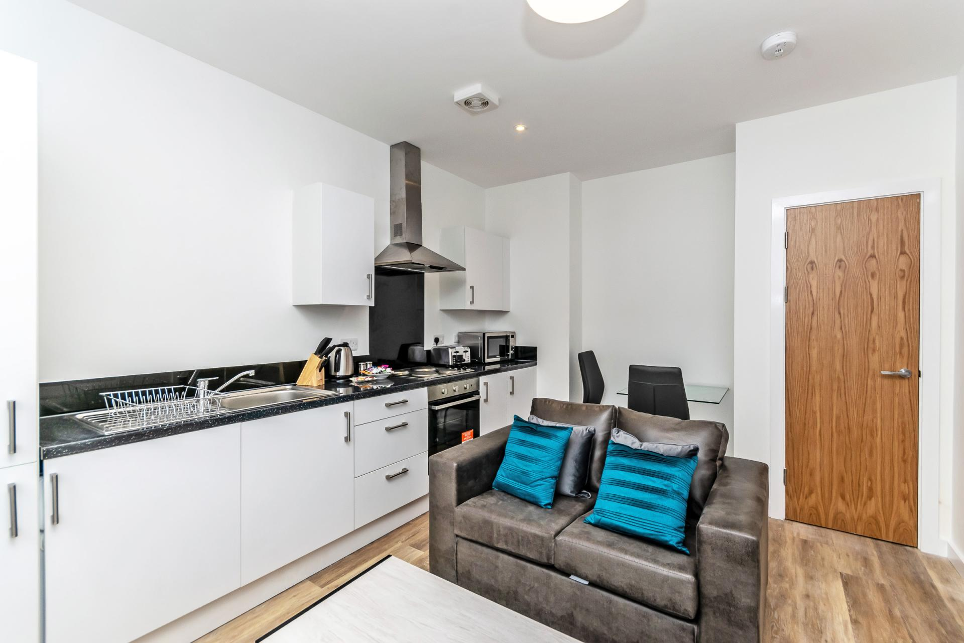 Kitchen at City Suites Apartments