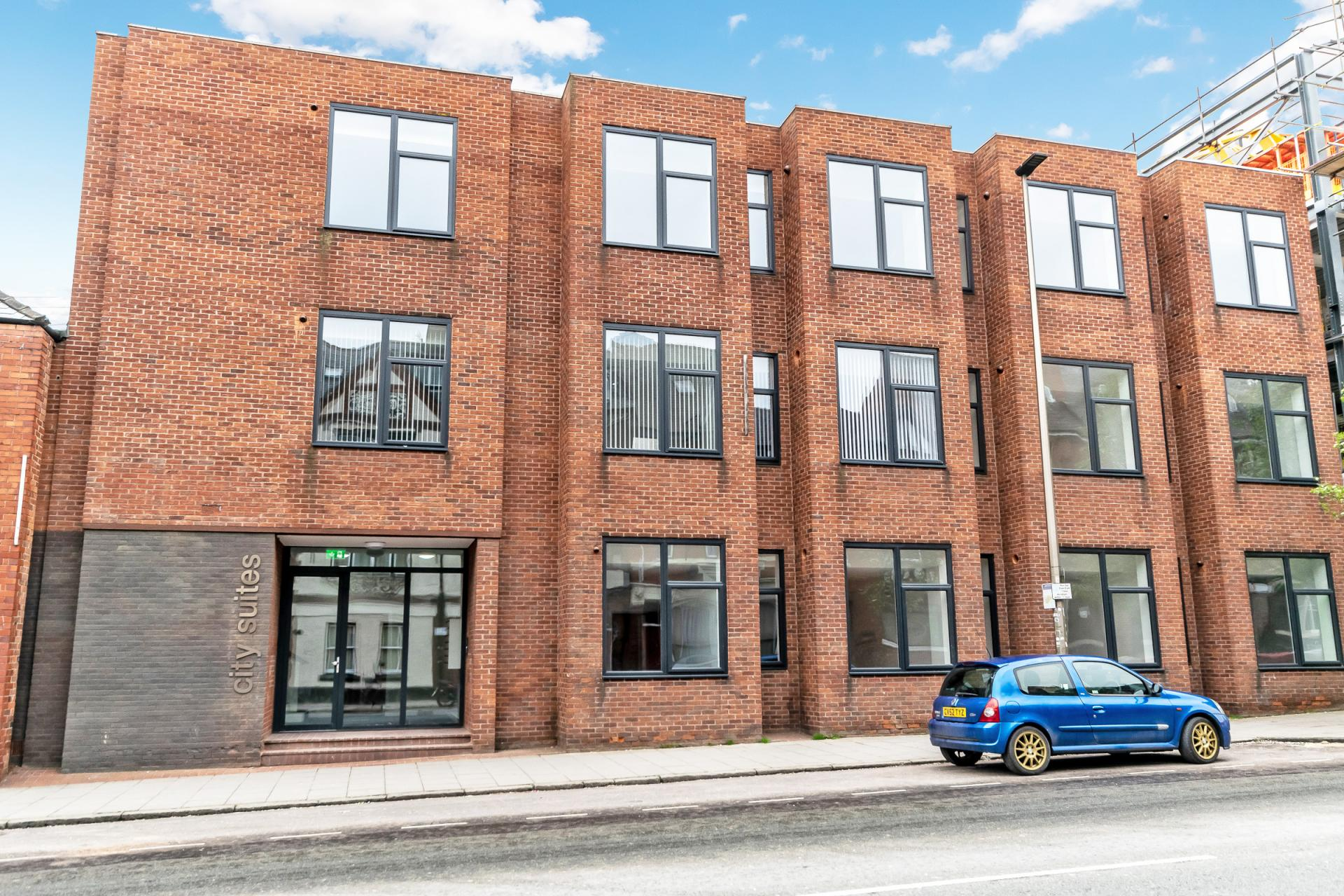 Building at City Suites Apartments