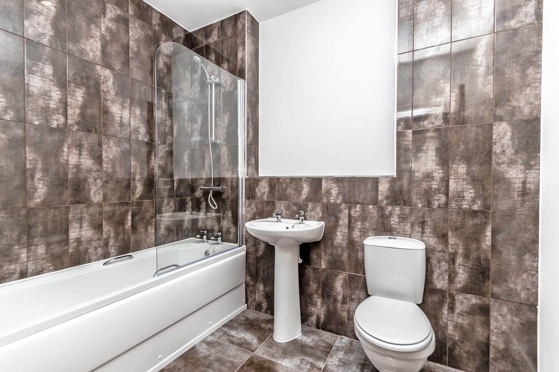 Bath at City Suites Apartments