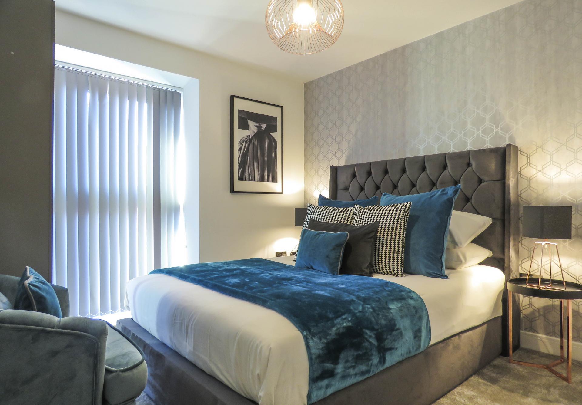 Bedroom at Kettleworks Serviced Apartments