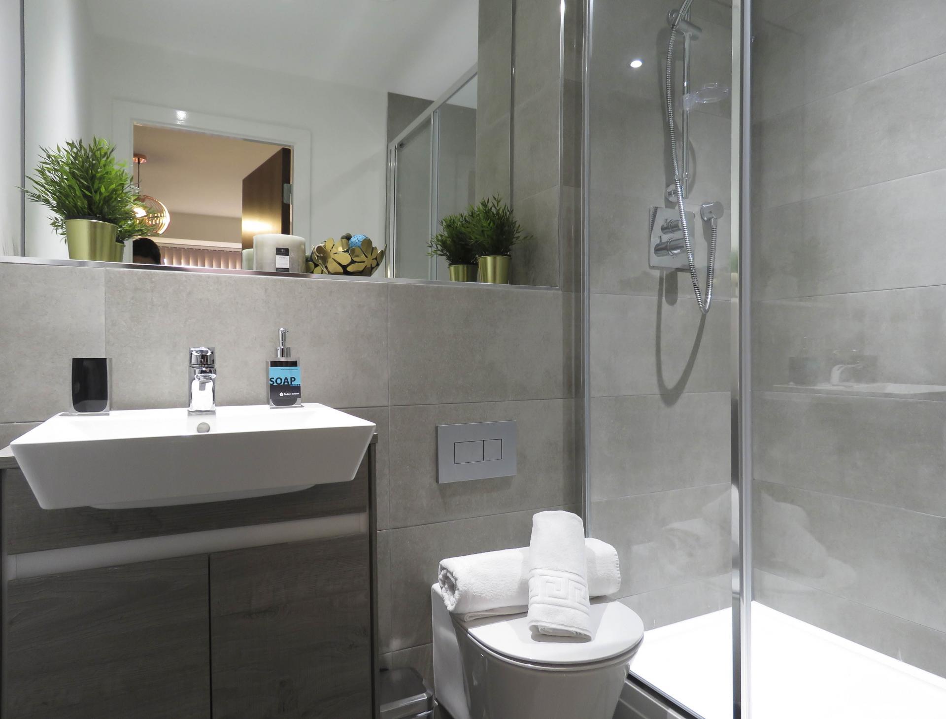 Sink at Kettleworks Serviced Apartments