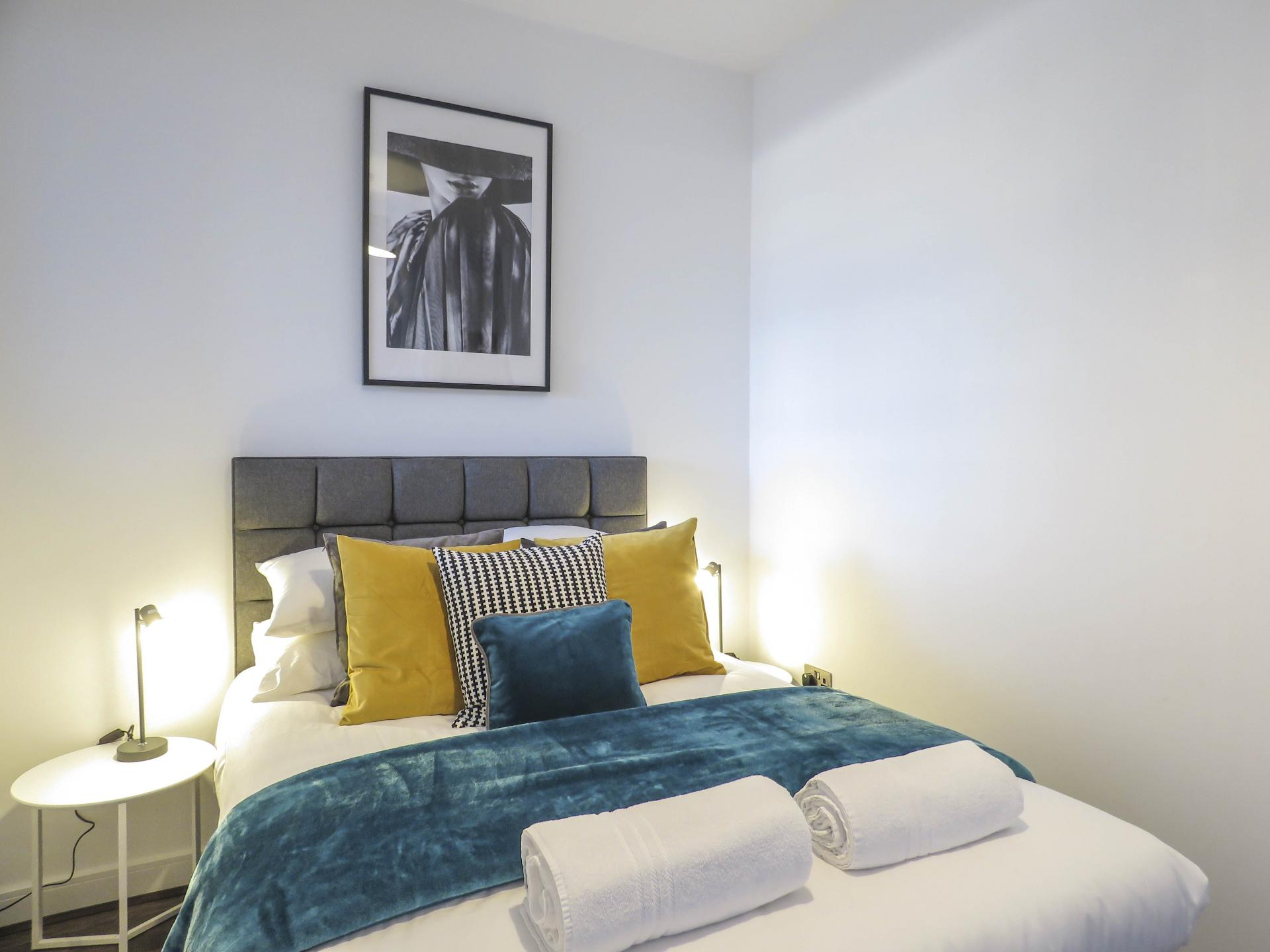 Beds at Kettleworks Serviced Apartments