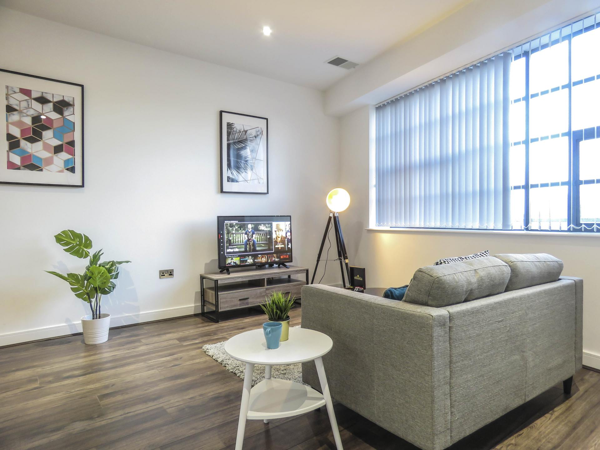 Plant at Kettleworks Serviced Apartments