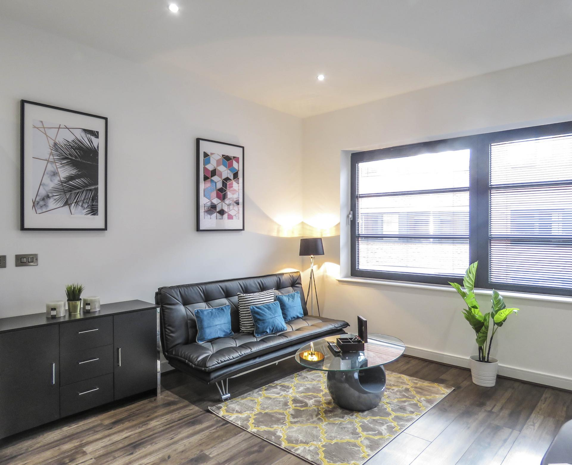 Seat at Kettleworks Serviced Apartments