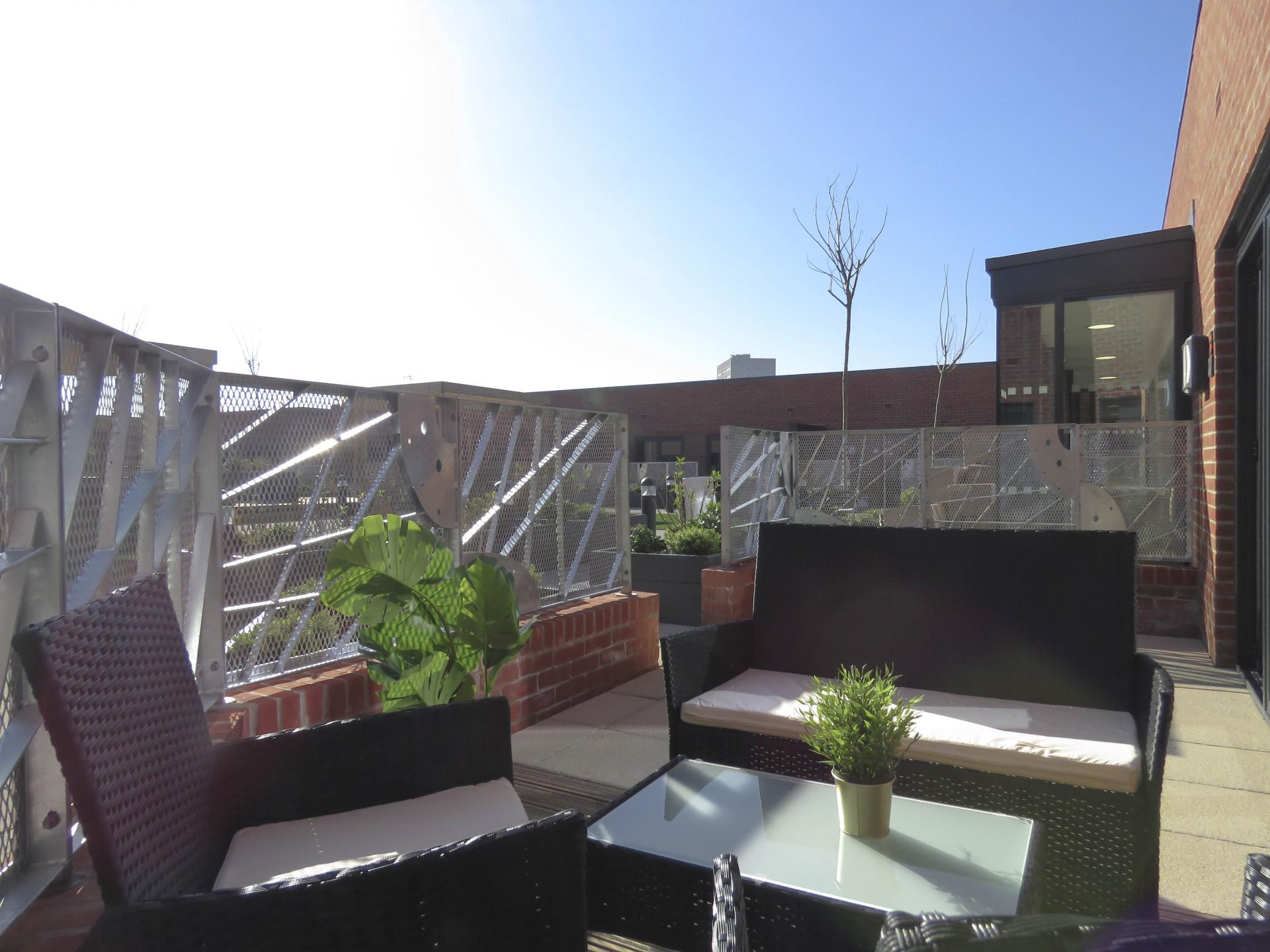 Outside at Kettleworks Serviced Apartments