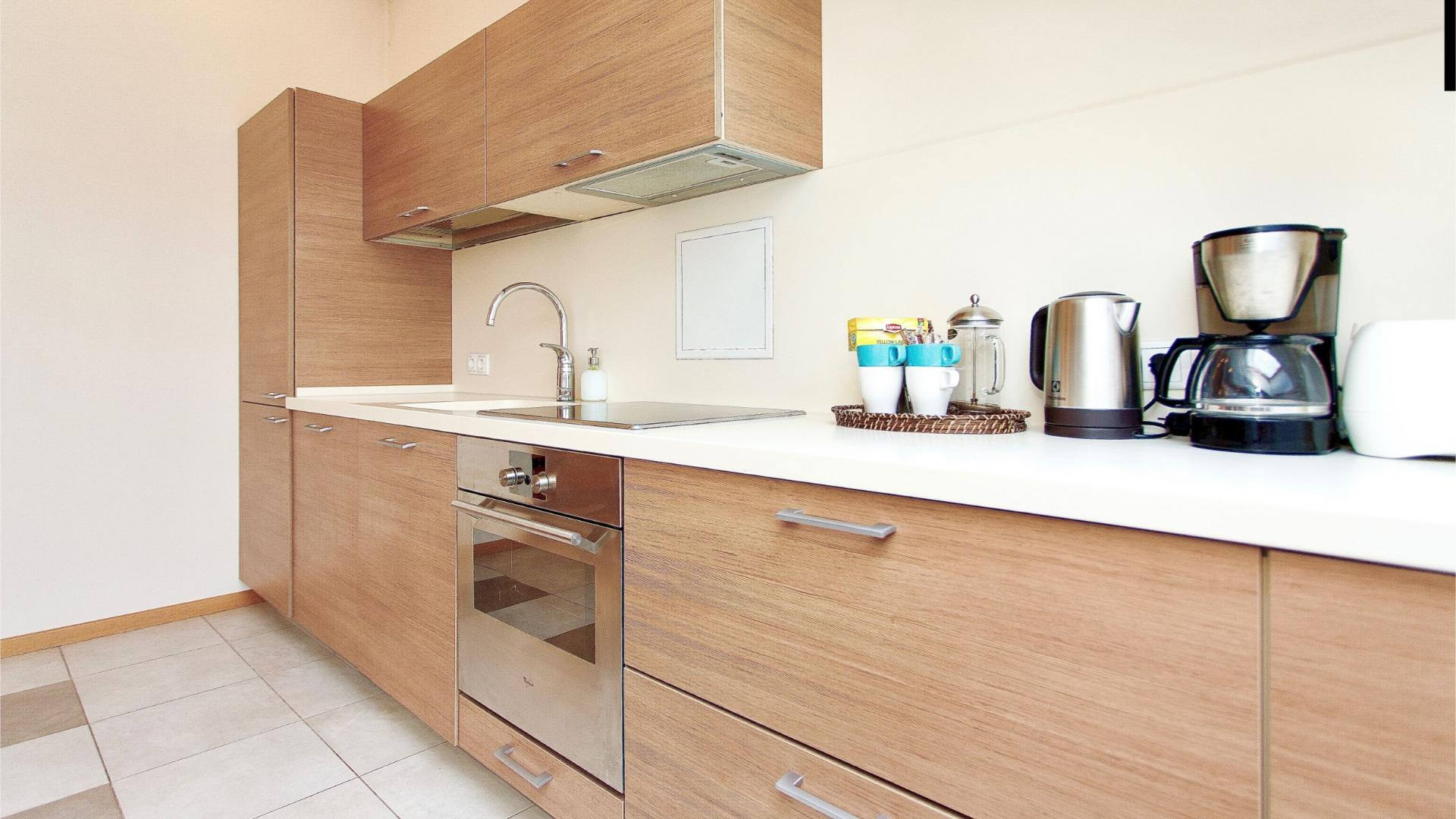 Kitchen at Stikliu Town Hall Apartment