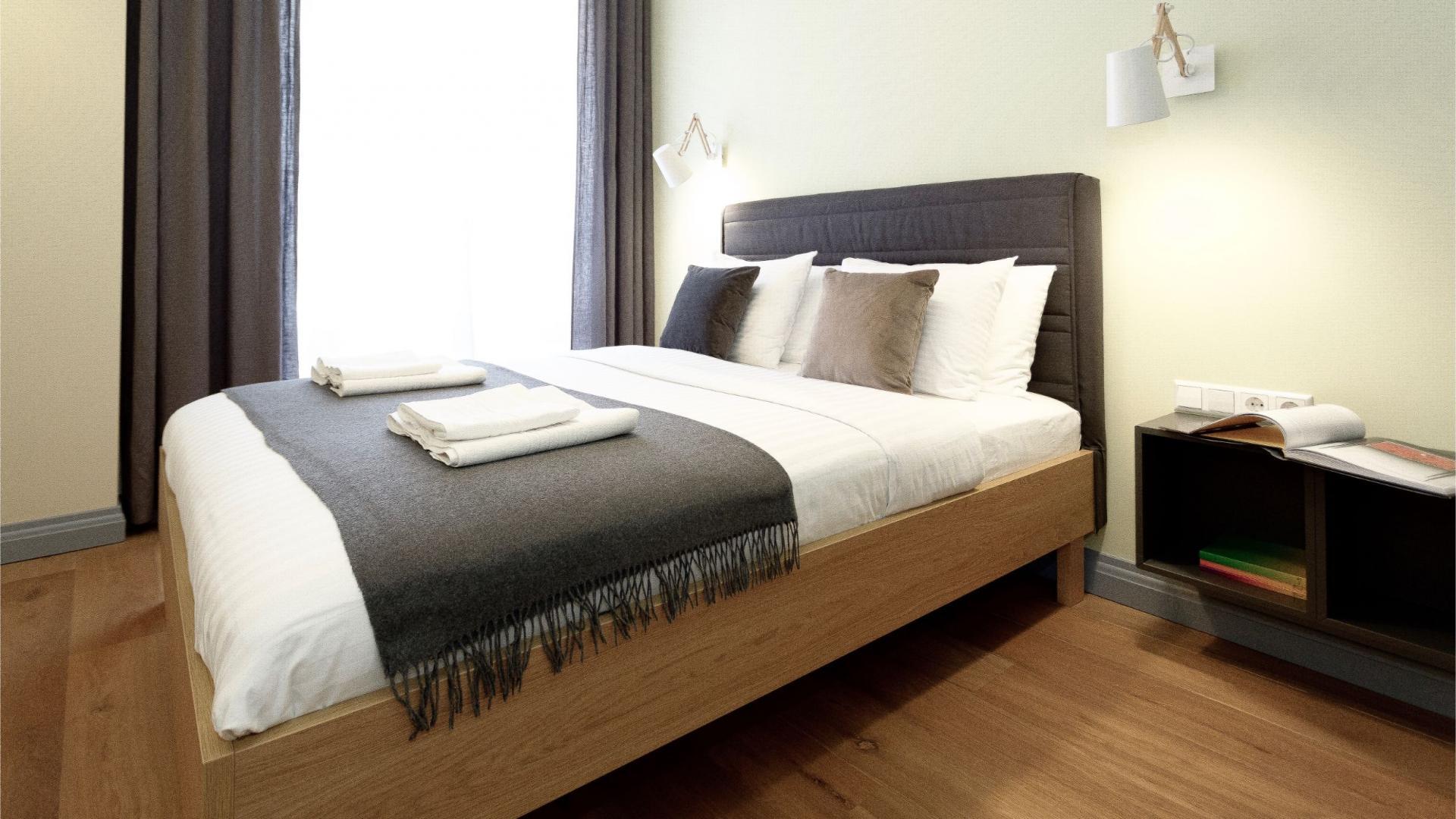 Bedroom at Siauliu Town Hall Apartment