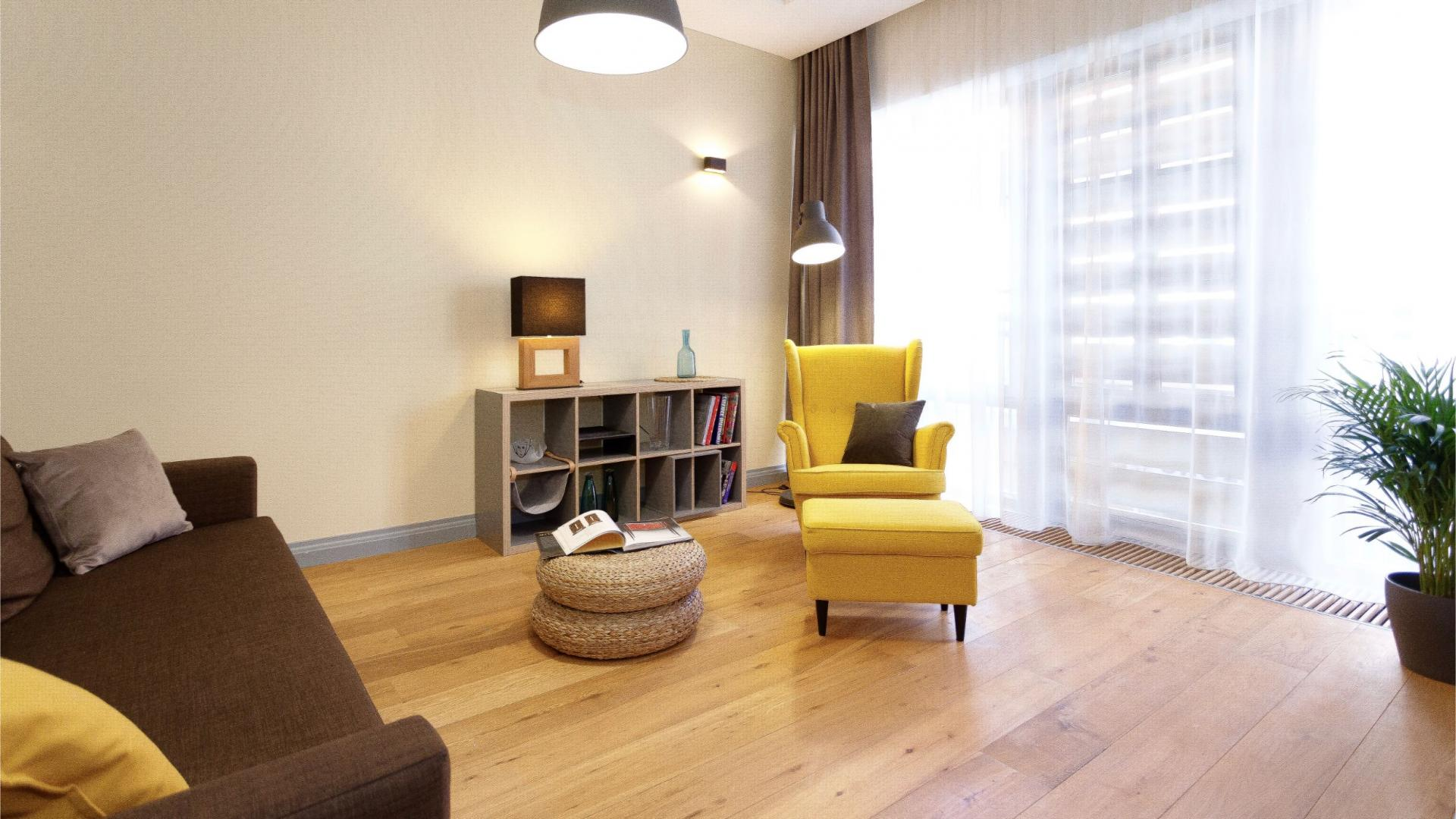 Spacious living area at Siauliu Town Hall Apartment