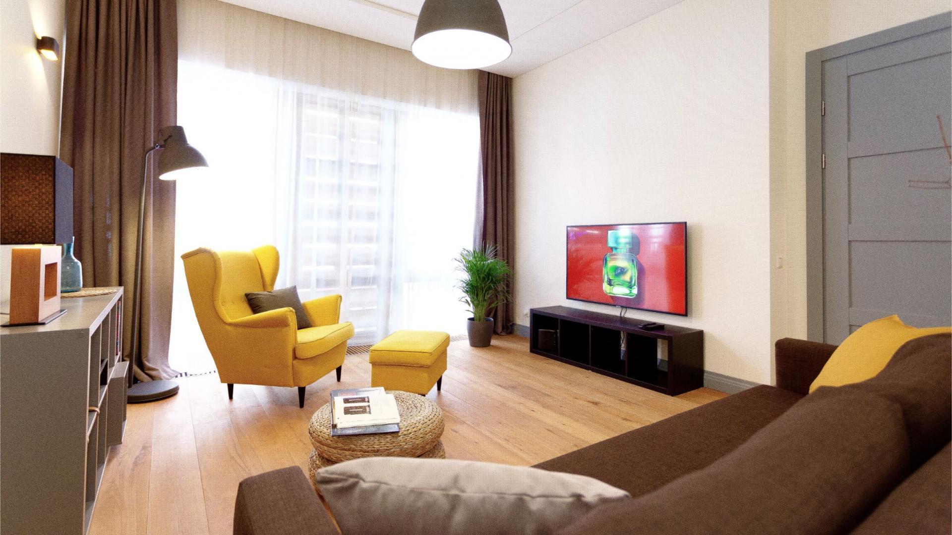 Living room at Siauliu Town Hall Apartment