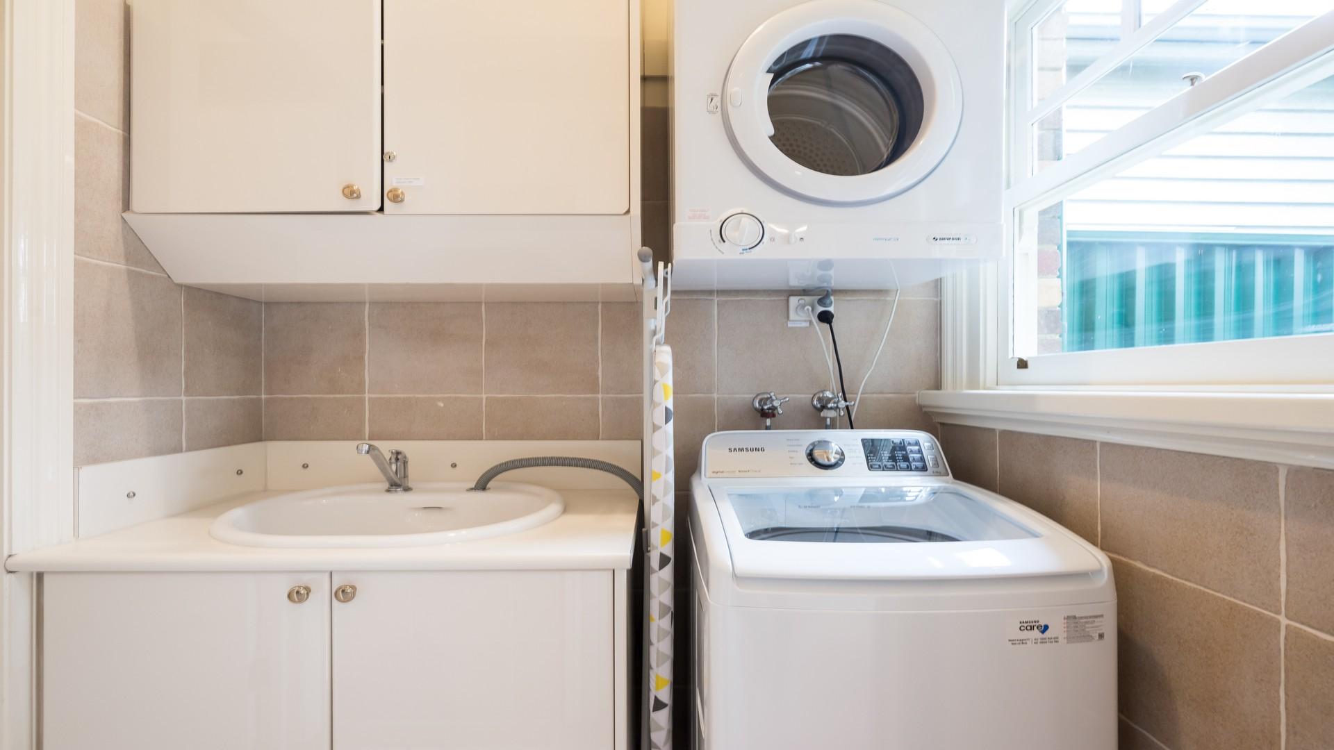 Laundry facilities at Buckingham Street Townhouse