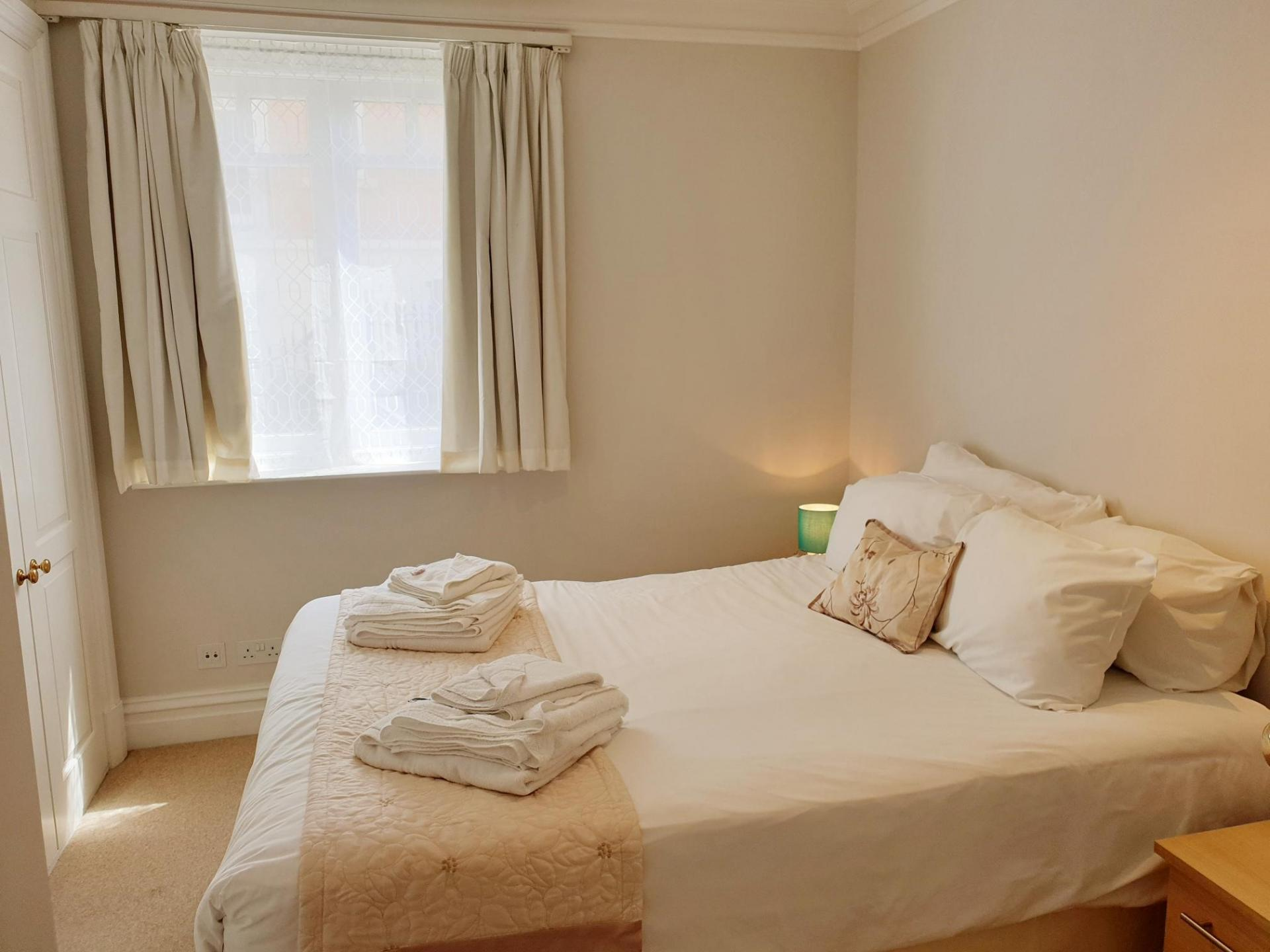 Bedroom at Kean House Serviced Apartment