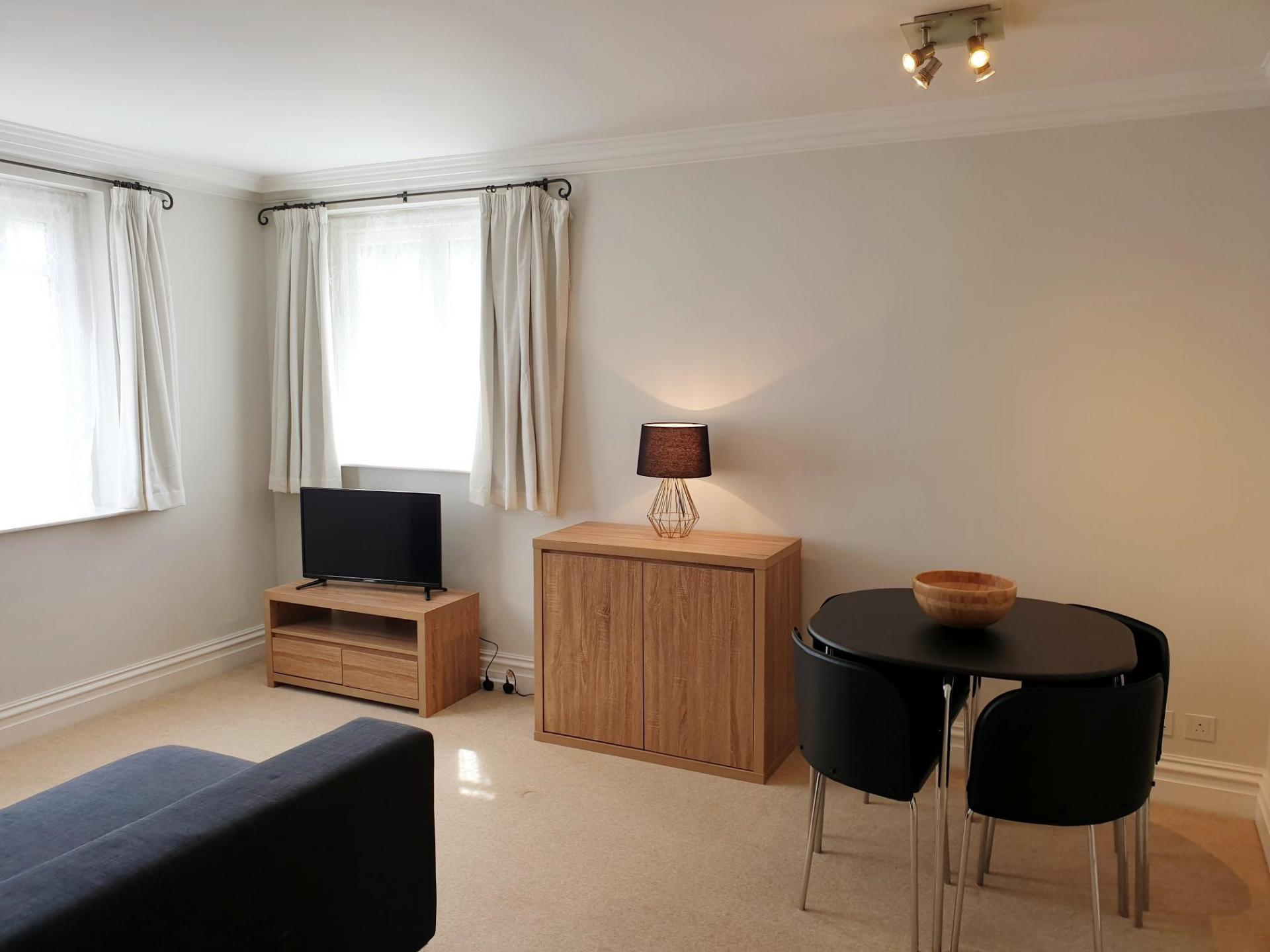 Living area at Kean House Serviced Apartment