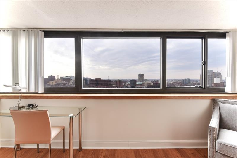 View at 10 Emerson Place Apartments