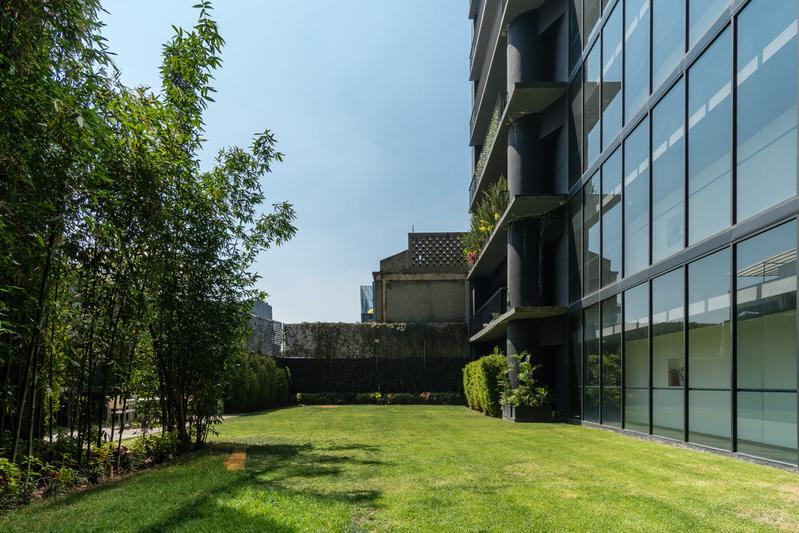 Garden at Magenta Apartment Reforma