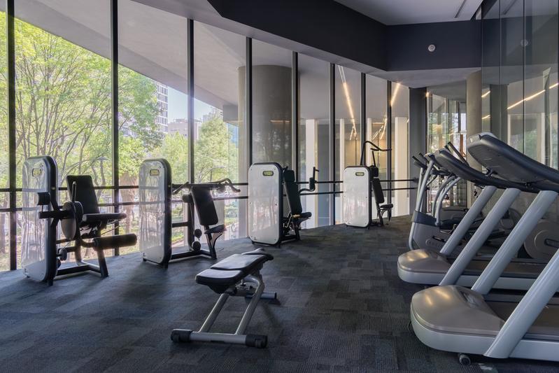 Gym at Magenta Apartment Reforma