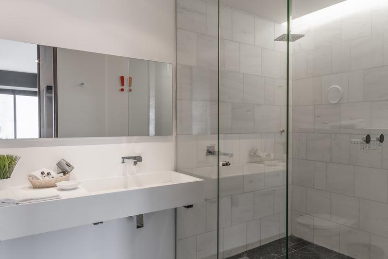 Bathroom at Magenta Apartment Reforma