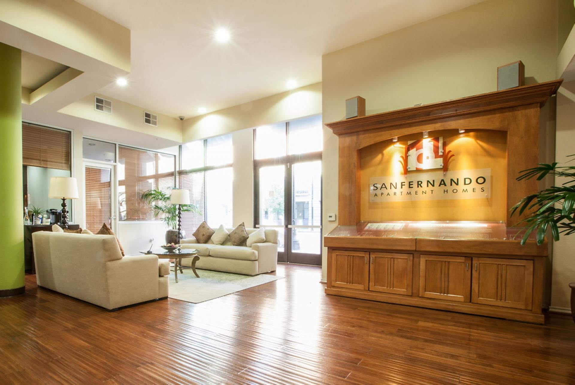 Lobby at San Fernando Apartments, Centre, San Jose
