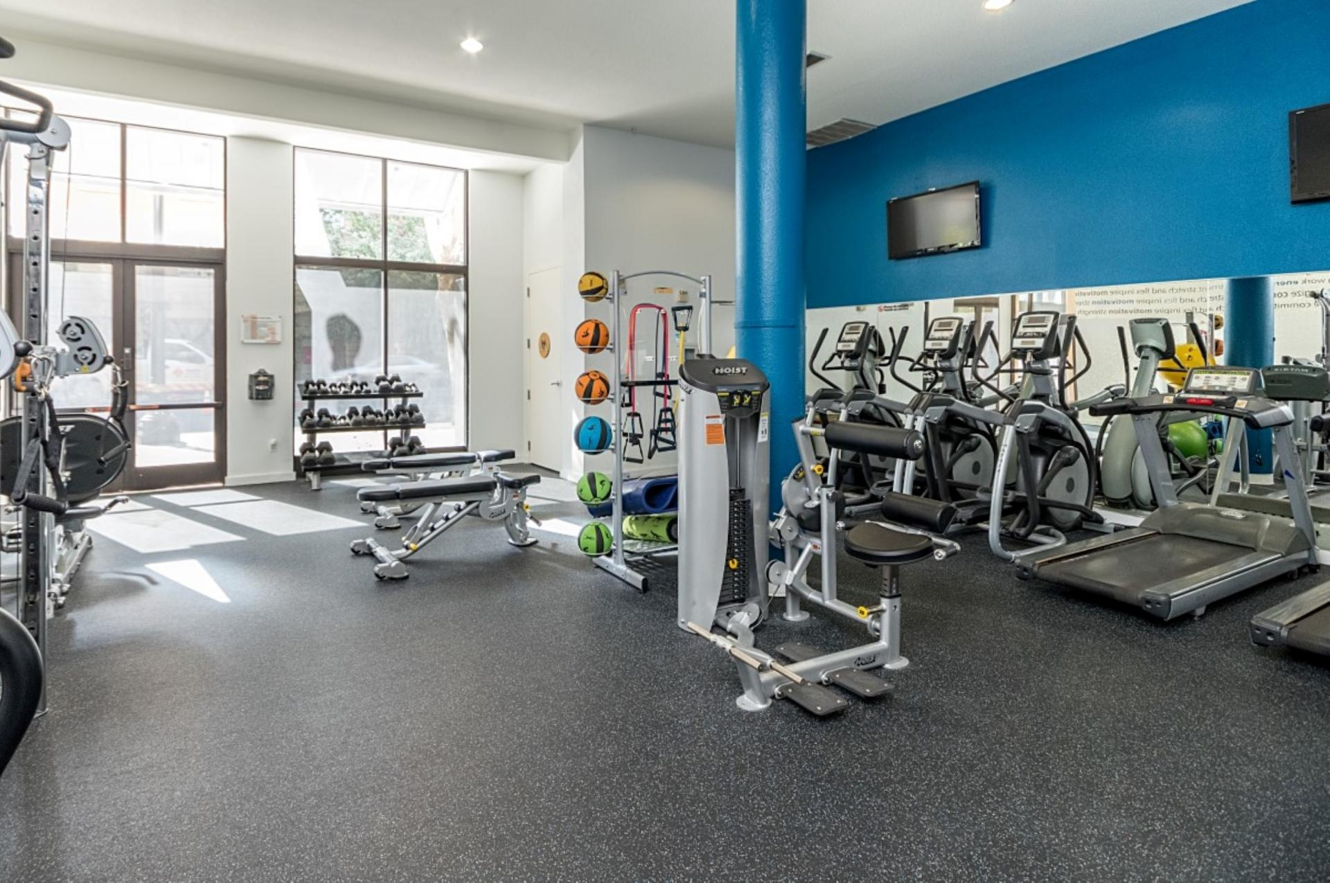 Gym at San Fernando Apartments, Centre, San Jose