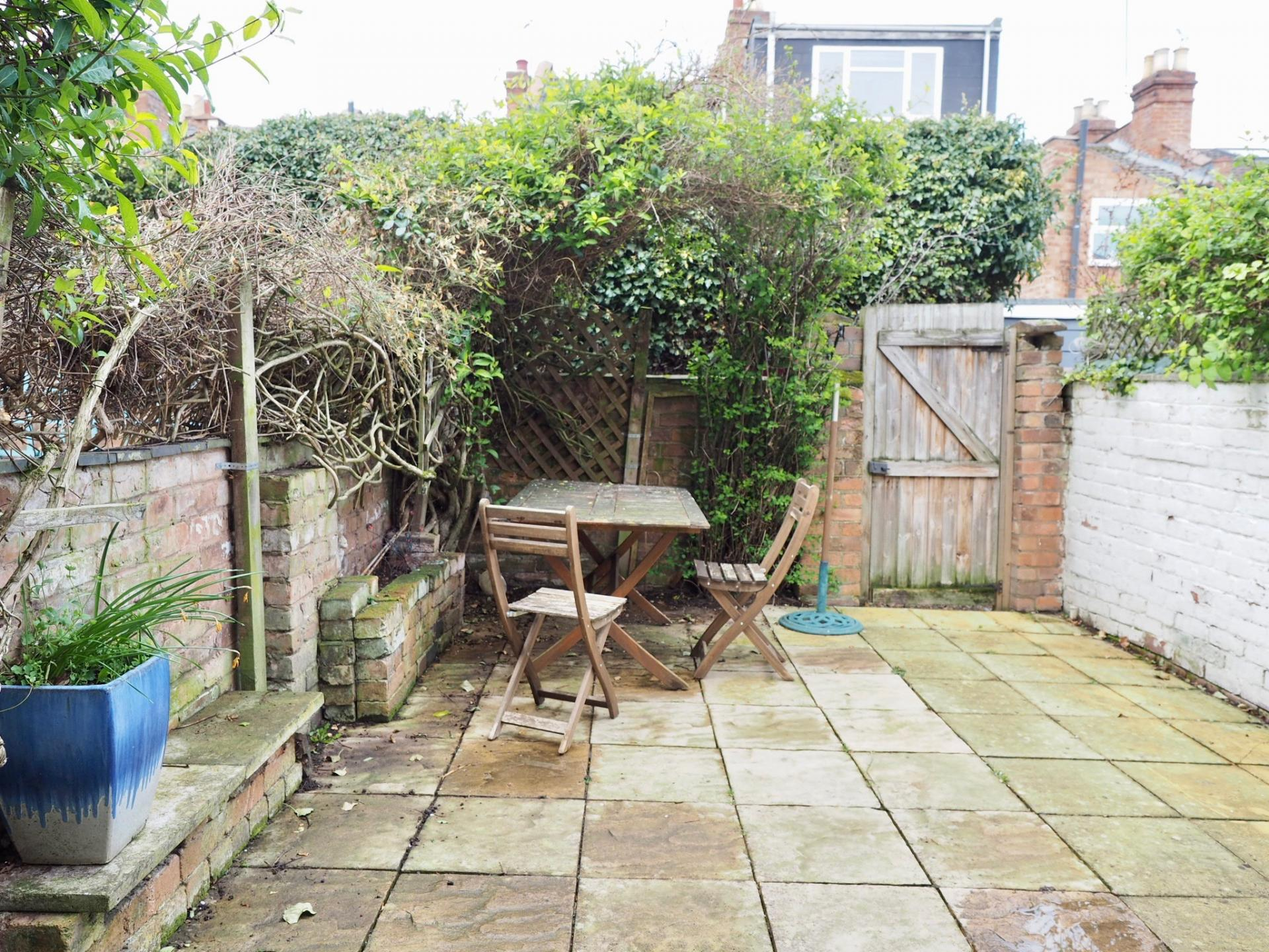 Patio at Gordon Street House, Centre, Leamington Spa