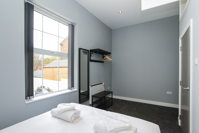 Bedroom at Arena Serviced Apartments